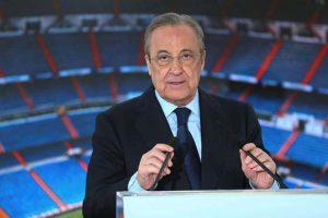 Florentino Perez, chủ tịch Real Madrid, được cho là đã ủng hộ ý tưởng Super LeagueFlorentino Perez, chủ tịch Real Madrid, được cho là đã ủng hộ ý tưởng Super League