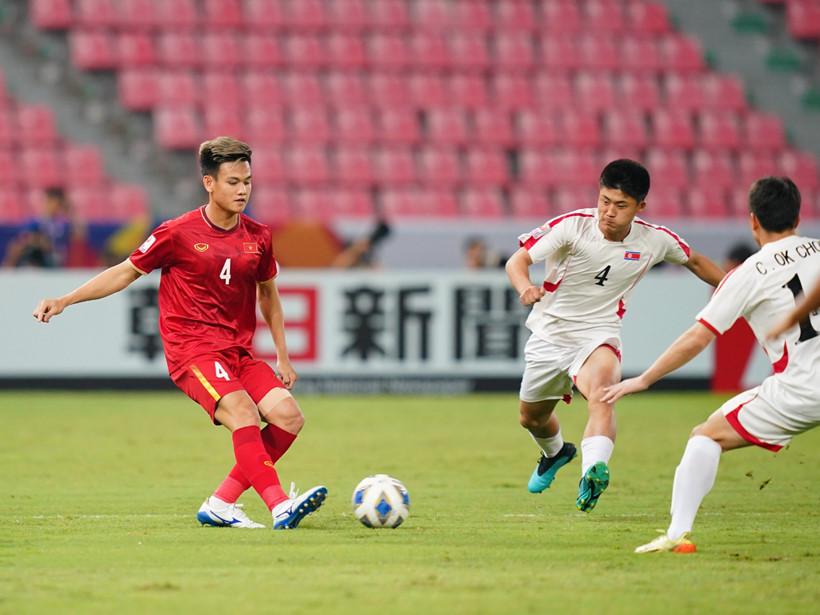 đối đầu với U23 Triều Tiên