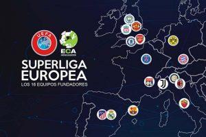 Giải European Super League bị đồn sẽ khởi tranh từ năm 2024 và các đội trong ảnh có thể được mời.