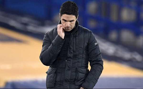 Sai sót của HLV Arteta khiến Arsenal đang dần trở nên quá yếu đuối