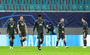 MU chịu tổn thất nặng nề vì sớm bị loại khỏi Champions League.