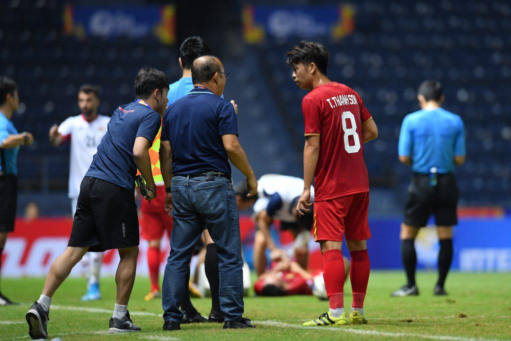 U23 Việt Nam trên sân