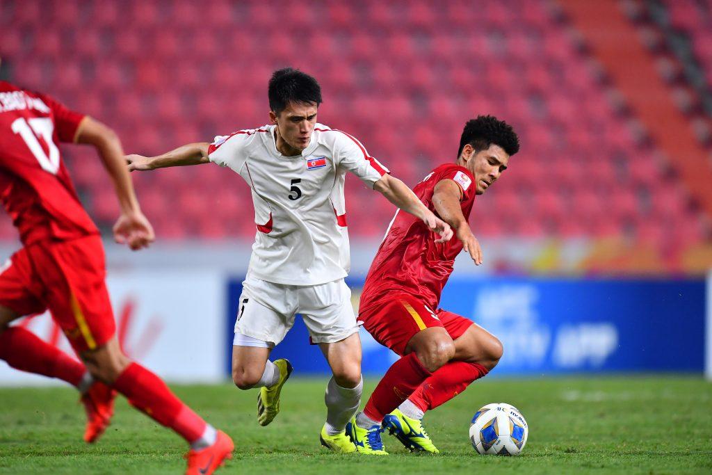 U23 Việt Nam đấu với U23 Thái Lan