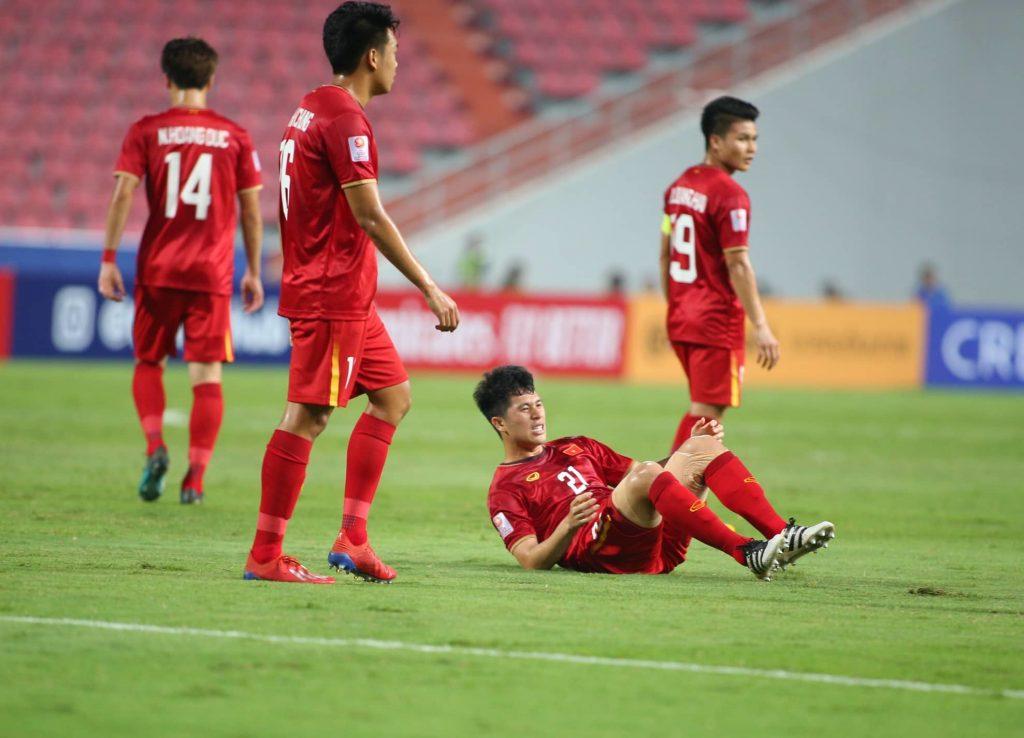 thất bại trước U23 Triều Tiên