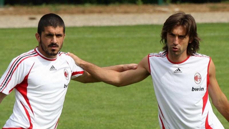 Andrea Pirlo và Gennaro Gattuso