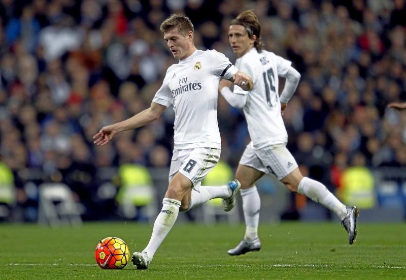 Toni Kroos và Luka Modric