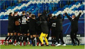 Dù thất bại nhưng Gladbach vẫn giành quyền vào vòng 1/8 Champions League