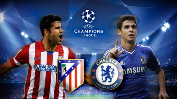 Trận đấu được kỳ vọng giữa Chelsea và Atletico Marid
