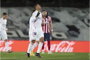 Real Madrid rất biết vượt qua gian khó.